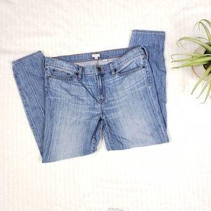 J. Crew Factory midrise skinny jeans